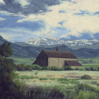 Tate Barn Oil Painting